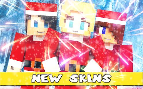 Christmas Skins for Minecraft - náhled