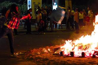 Photo: Празникът на Сан Жуан: горят се неща