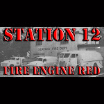 Thin Brew Line - Station 12 Fire Engine Red