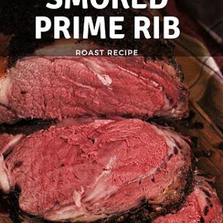 Smoked Prime Rib Roast.