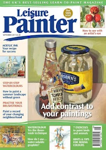 Leisure Painter Magazine- screenshot thumbnail