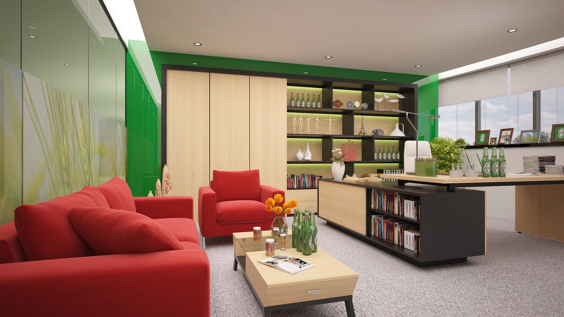 Văn phòng TGĐ bia Heineken