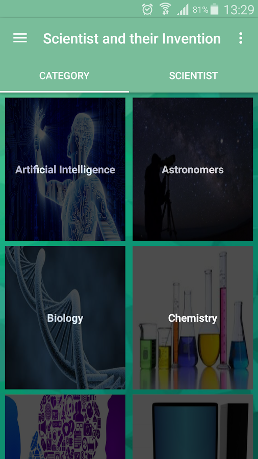 Scientists & their Inventions- screenshot