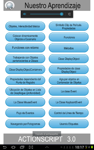 ActionScript3 Bu00e1sico 1.0 screenshots 3