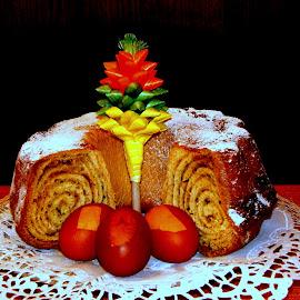 pehtranova potica-tarragon cake by Marko Lengar - Food & Drink Cooking & Baking ( cake, poica, pehtranka, tarragon )