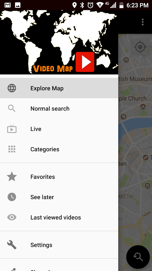 Video Map for Youtube- screenshot