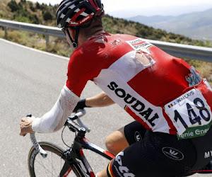"""Belgische pechvogel van de Vuelta zet door en bereikte eerste doel: """"Ik schreeuwde het telkens uit van de pijn"""""""