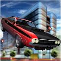 Roof Top Jet Cars Stunts 3D icon