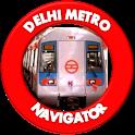 Delhi Metro Navigator - Fare, Route, Map, Offline icon