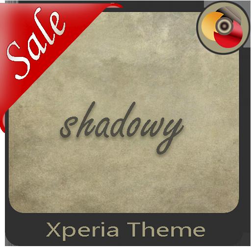 shadowy | Xperia™ Theme + icons