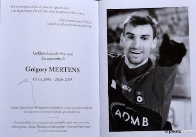 Les funérailles de Grégory Mertens en photo