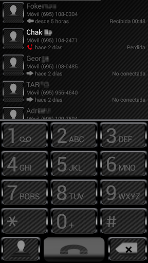THEME BLACK CARBON EXDIALER