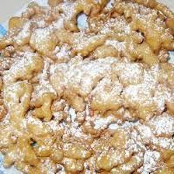 Homemade Funnel Cakes Recipe