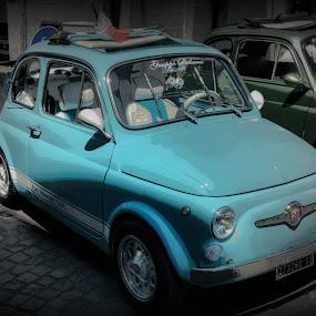 Fiat 500 by Doug Faraday-Reeves - Transportation Automobiles ( fiat 500, car, classic car, italian )