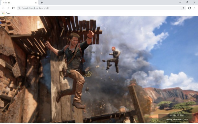 Uncharted 4 New Tab & Wallpapers Collection