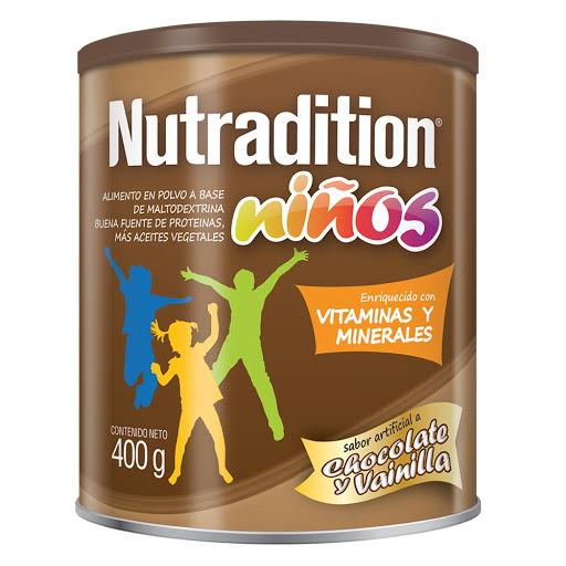 sumplemento nutricional nutradition nino choco vainilla 400g