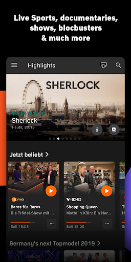 Zattoo - TV Streaming App 2.1925.0 screenshots 2