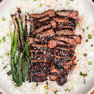 Flank Steak Teriyaki