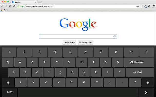 Touch Kiosk Keyboard