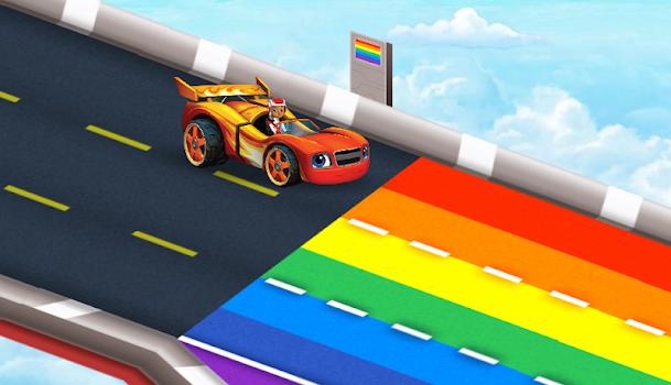 Blaze Race The Skytrack