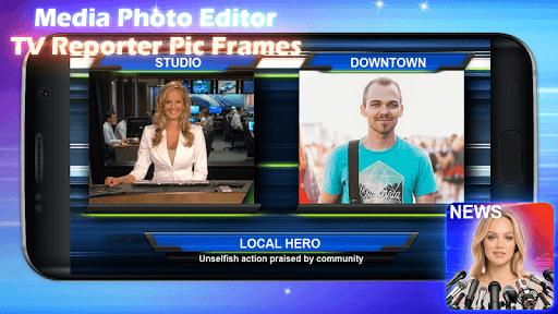 Media Photo Editor u2013 TV Reporter Pic Frames 1.0m 5