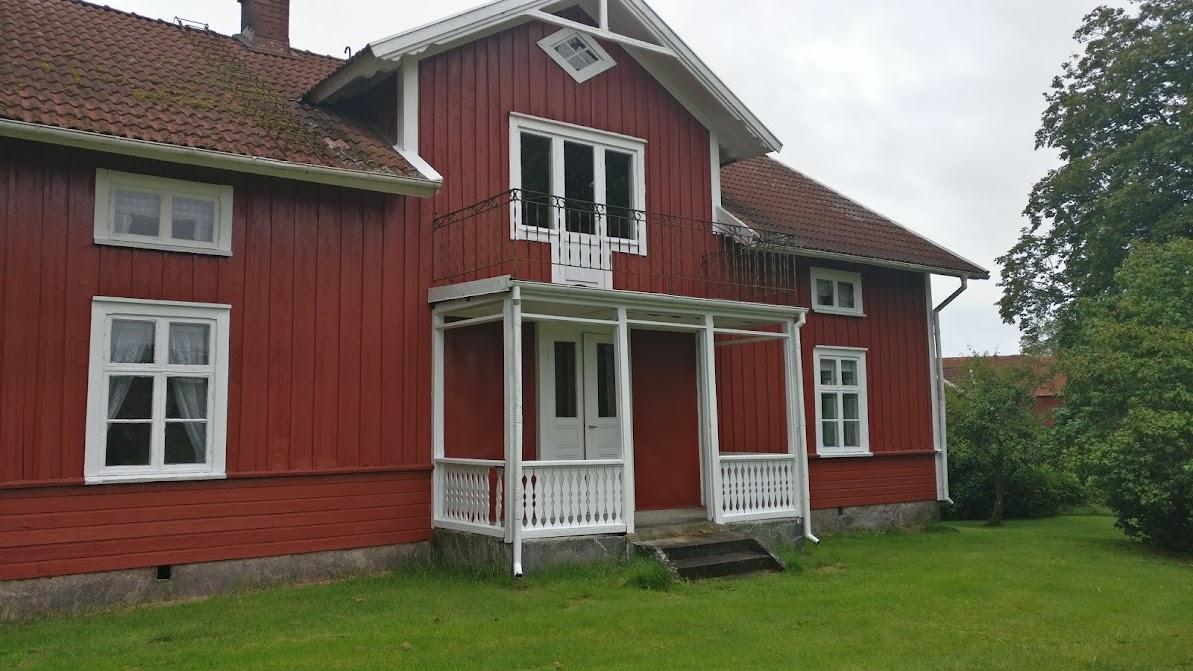 A typical Swedish farm house