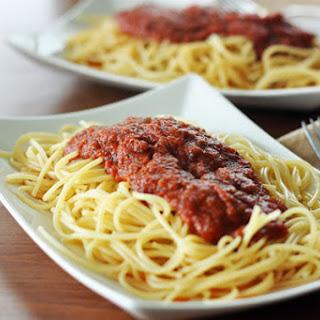 Favorite Quick Spaghetti Sauce