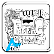 Doodle Name Art by agvdev icon