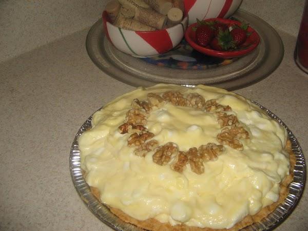 Banana Pudding Pie Recipe
