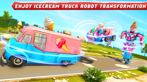 Ice Cream Robot Truck Game - Robot Transformation filehippodl screenshot 15