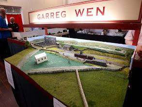 """Photo: 020 Garreg Wen, Matthew and Helen Kean's vintage Welsh NG """"album"""" layout is in the process of being extended in depth to allow additional scenic features. This early gimpse provides a taste of how attractive the scene is going to be when completed ."""