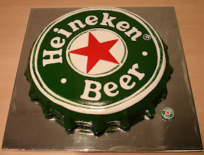 Photo: Heineken Cake