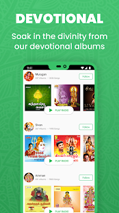 Raaga Hindi Tamil Telugu songs videos and podcasts Screenshot