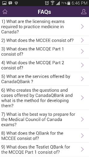 MCCEE QBank 1 0 2 APK by Canada QBank Details