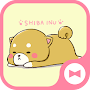 Dog Wallpaper Cute Mini-Shiba Theme APK icon