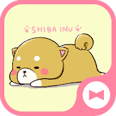 Wallpaper Tema Cute Mini-Shiba