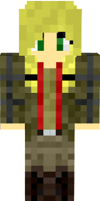This skin isn't mine, I only added the hair.