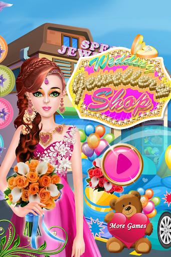 結婚式の店の宝石ゲーム