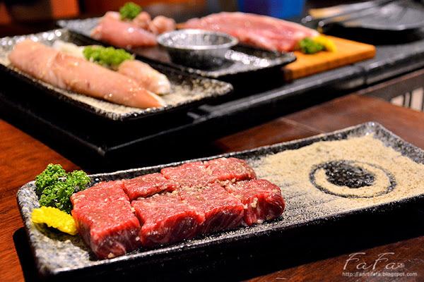 甕也燒肉(延吉)。東區國父紀念館站專人桌邊燒烤肉和牛角切 海鮮