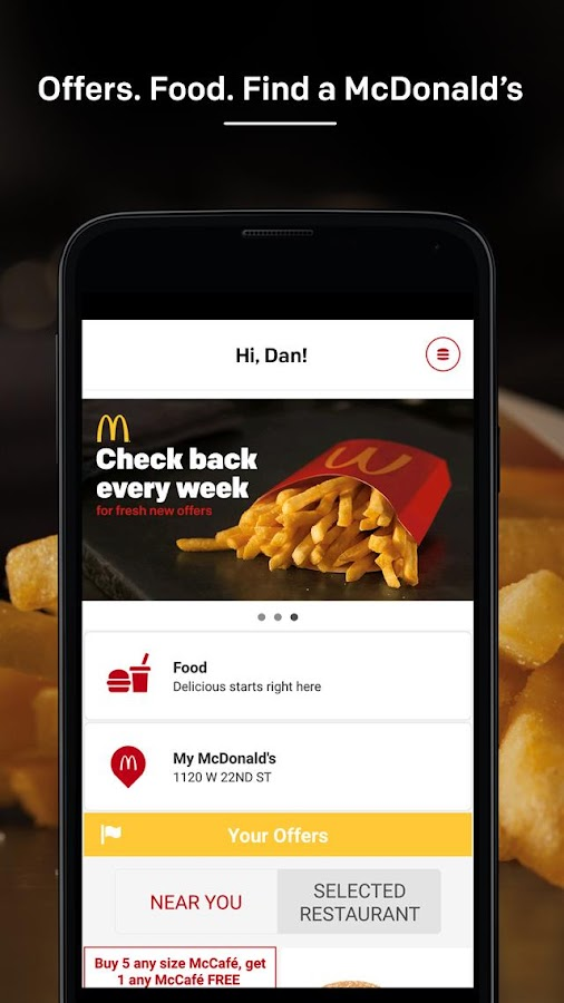 mcdonald app android