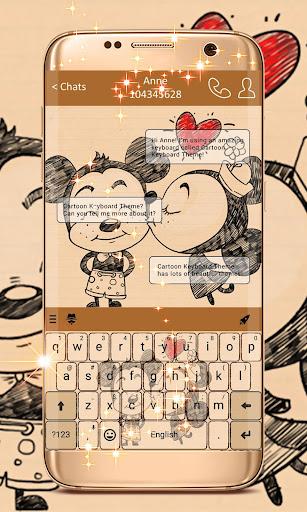 Cartoon Keyboard Theme 1.307.1.114 screenshots 1