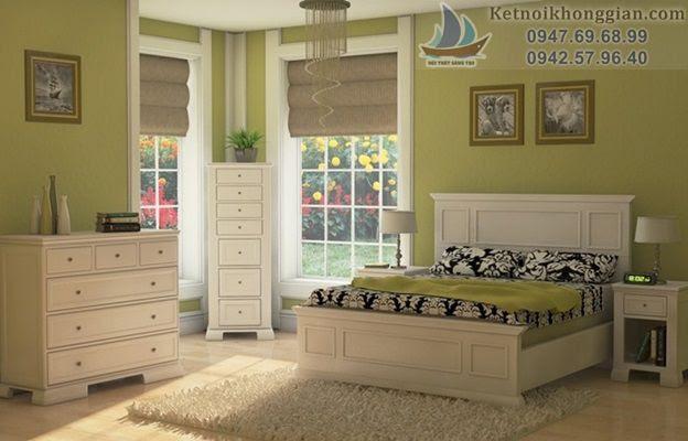 thiết kế phòng ngủ đẹp, lựa chọn màu phòng ngủ chuẩn