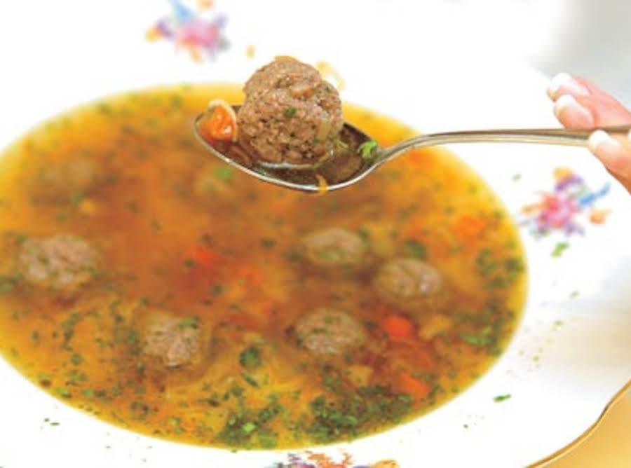 Liver Dumpling Soup Recipe | Just A Pinch Recipes