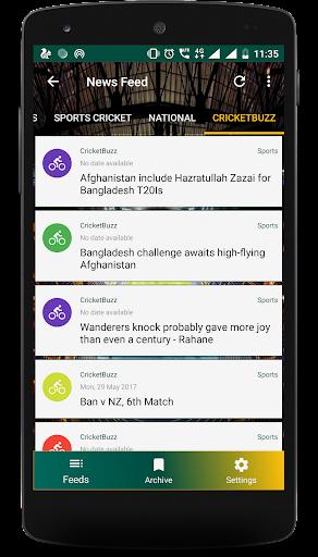 Live Cricket Score 2018 - schedule & Cricket NEWS 5.1 screenshots 6