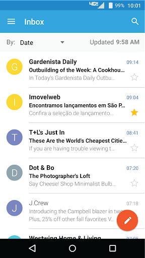 Moto Email