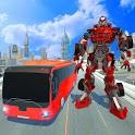 Bus Robot Transforming Game - Passenger Transport icon