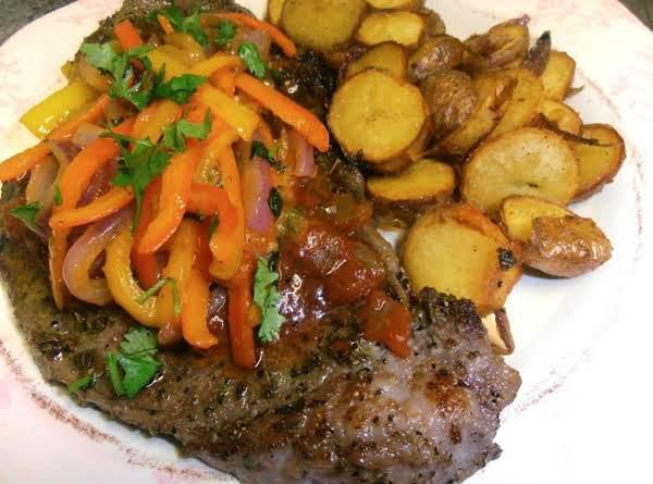 Cancun Steak And Potatoes