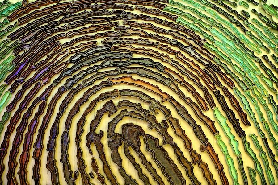 copper wall by Pandawa Lima - Abstract Patterns