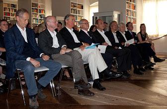 Photo: Der Petrarca-Preis, der mit je 10.000 Euro dotiert ist, wird 2010 an zwei Preisträger vergeben: Erri De Luca und Pierre Michon.̽