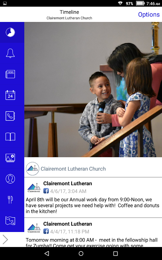 Clairemont Lutheran Church- screenshot